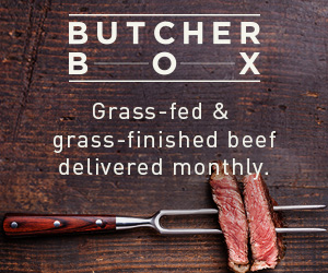 Grass-fed beef from ButcherBox