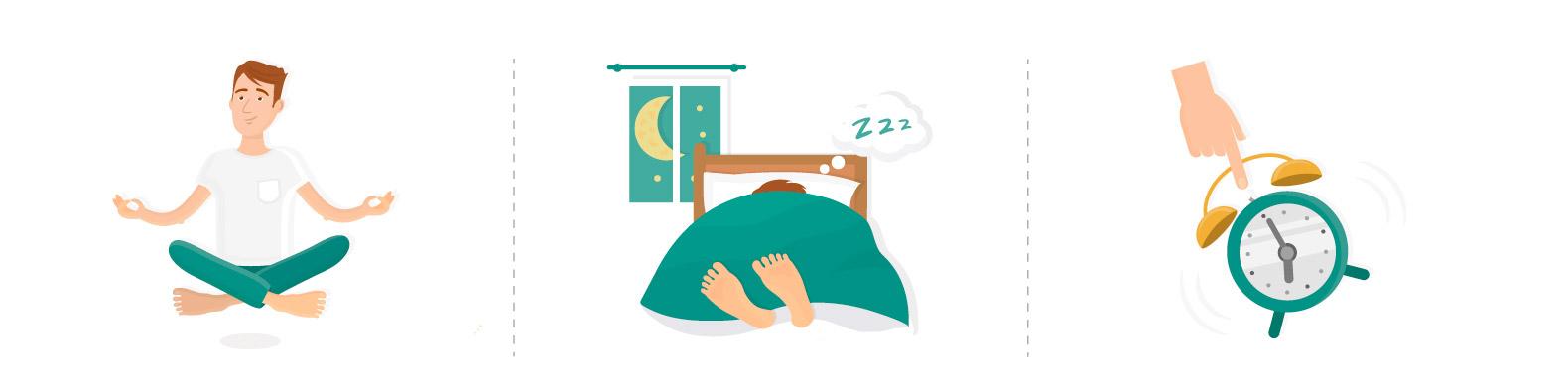 Better sleep and reduce stress