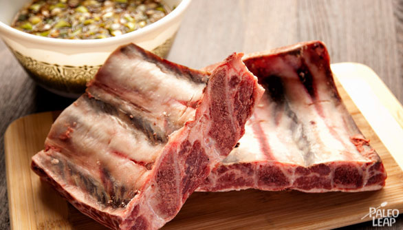 Asian-Style Beef Ribs preparation