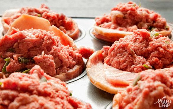 Mini Meatloaves preparation