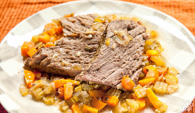 Beef Chuck With Braised Vegetables