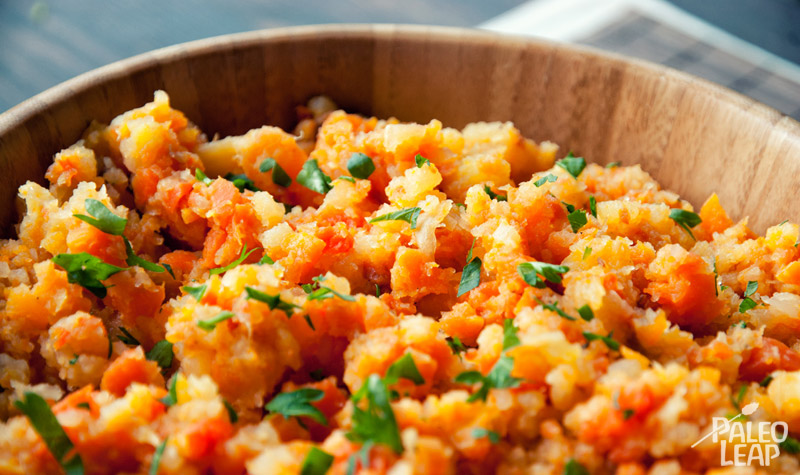 Carrots and Rutabaga Mash