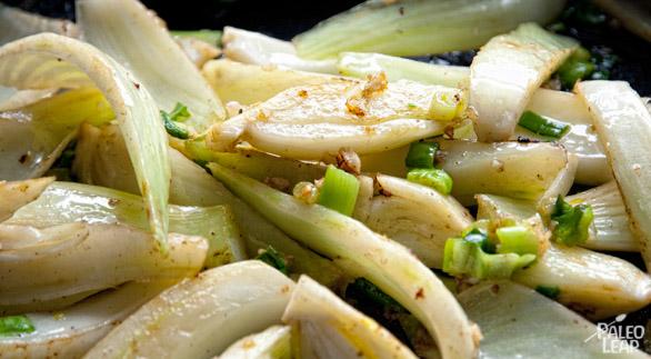 Braised chicken preparation