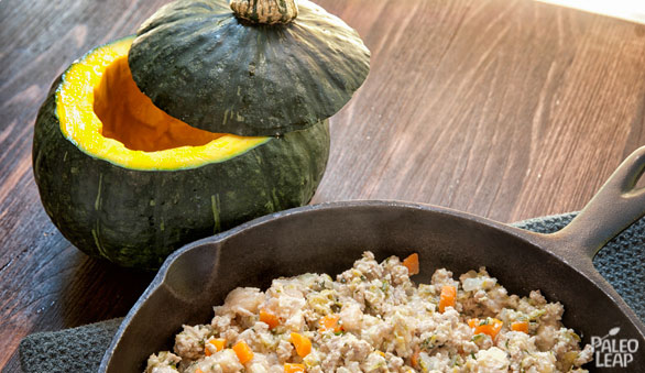 Stuffed Squash preparation