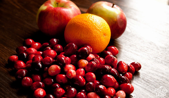 Cranberry Relish preparation