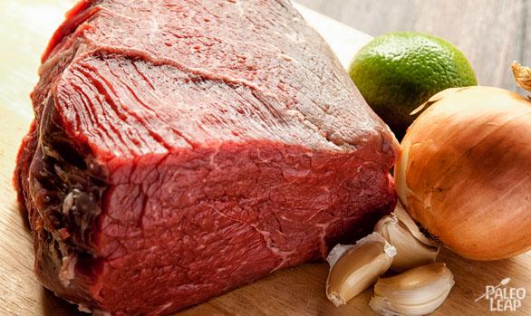 Cuban Shredded Beef preparation