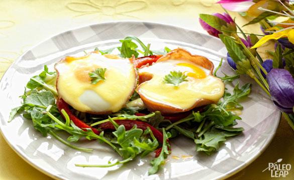 Eggs Benedict And Ham