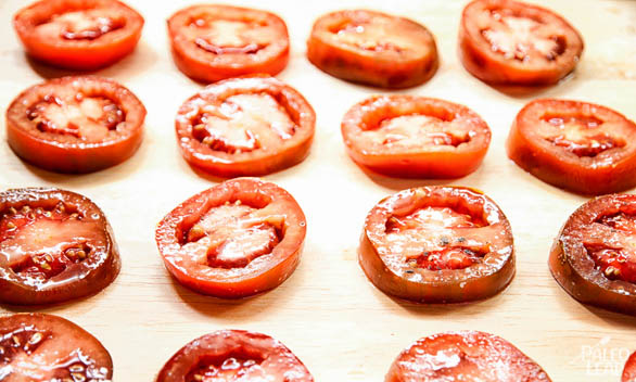 Brown Tomatoes preparation