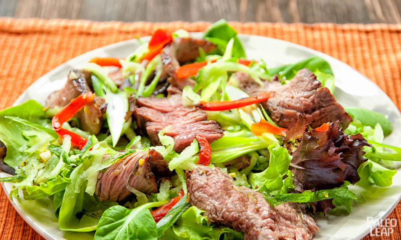 Grilled Steak Salad | Paleo Leap