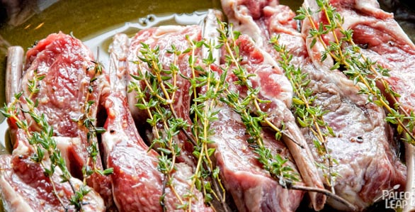 Lamb Cutlet preparation