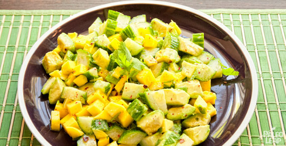 Mango And Avocado Salad | Paleo Leap