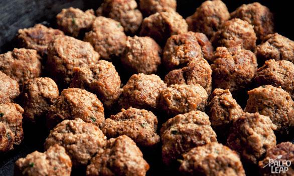 Meatballs preparation