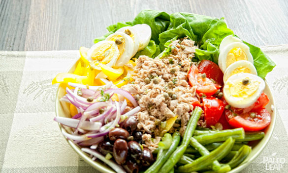 Nicoise Salad | Paleo Leap