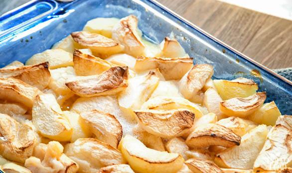 Applesauce preparation