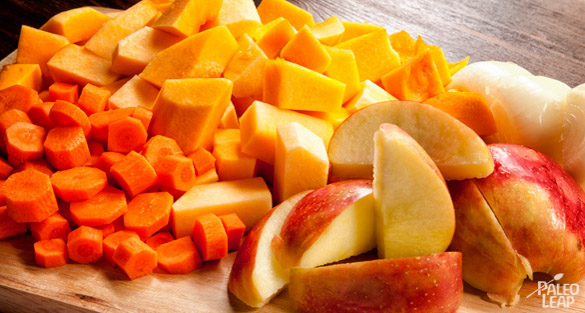 Pumpkin Soup preparation