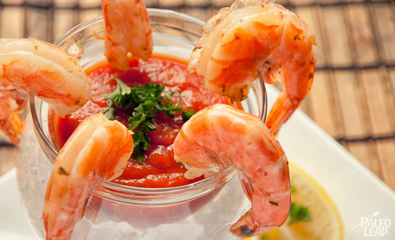 Shrimp Cocktail Paleo Leap