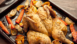 Butterflied Roasted Chicken