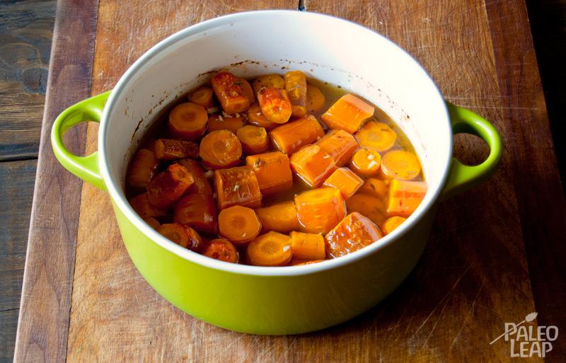 Carrot confit