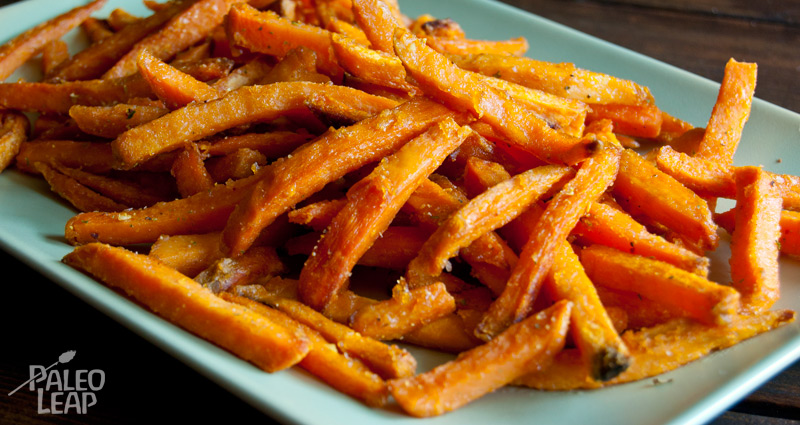 Sweet Potato Fries sweet potato fries paleo leap