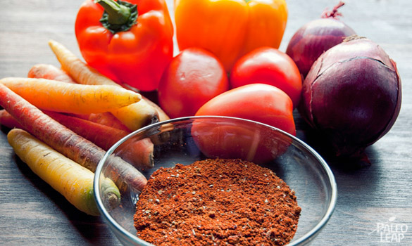 Turkey Chili preparation