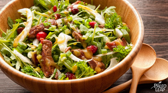 Steak And Cranberry Salad