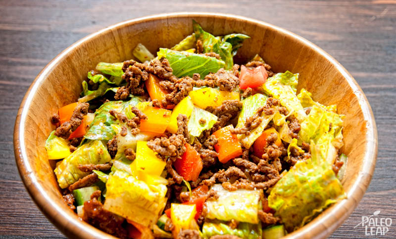 Taco Salad | Paleo Leap