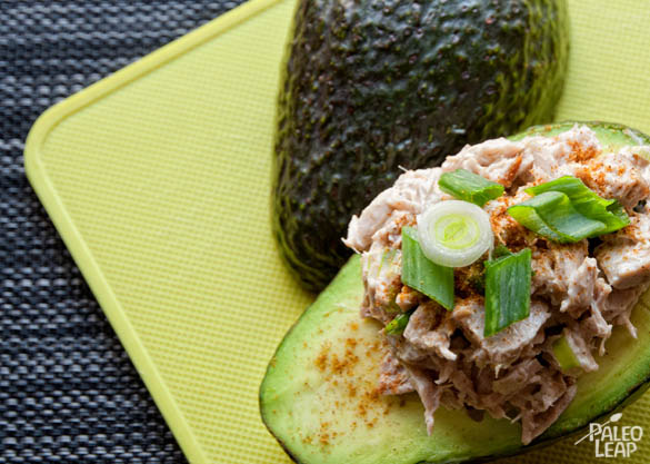 Tuna Avocado Boats