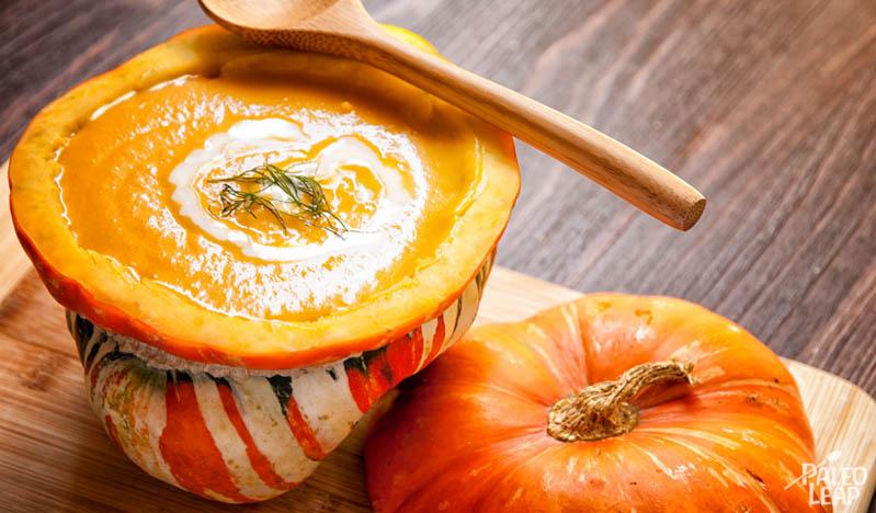 Turban Squash Soup