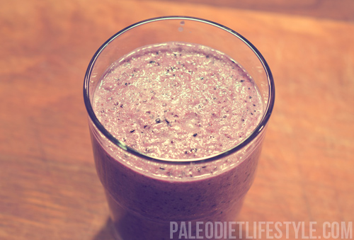 Blueberry Cucumber Smoothie