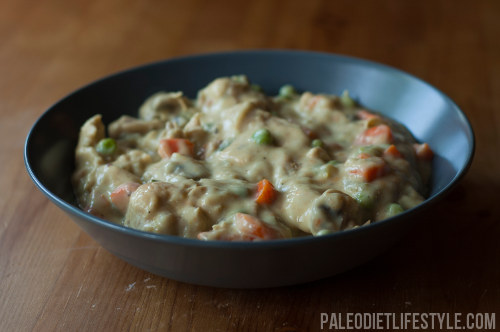 Quick And Creamy Chicken Stew | Paleo Leap