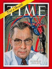 Ancel keys in Time magazine