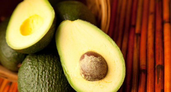 Avocados are a great source of soluble fiber
