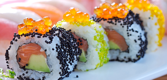 All about fish eggs paleo leap for Fish eggs on sushi