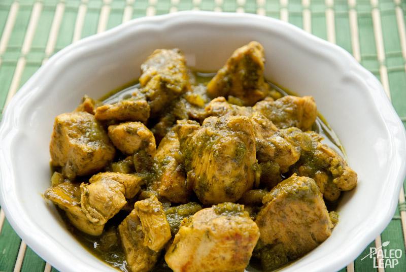 Green chicken masala paleo leap green chicken masala forumfinder Image collections