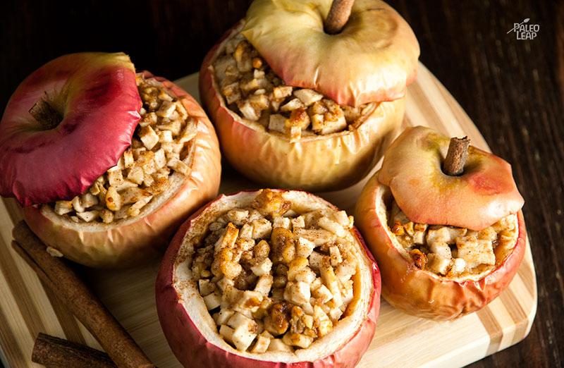 Apple Pie Baked Apples Recipe
