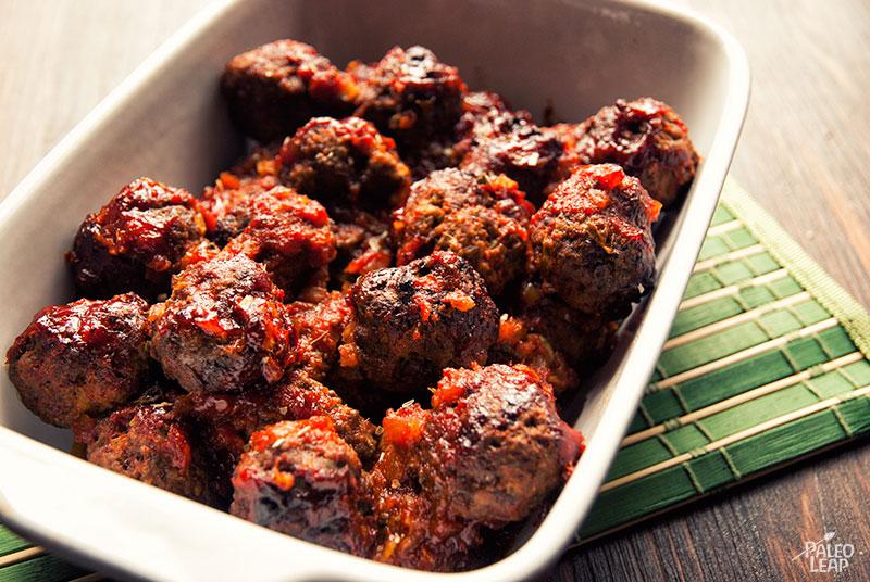 BBQ Meatballs | Paleo Leap