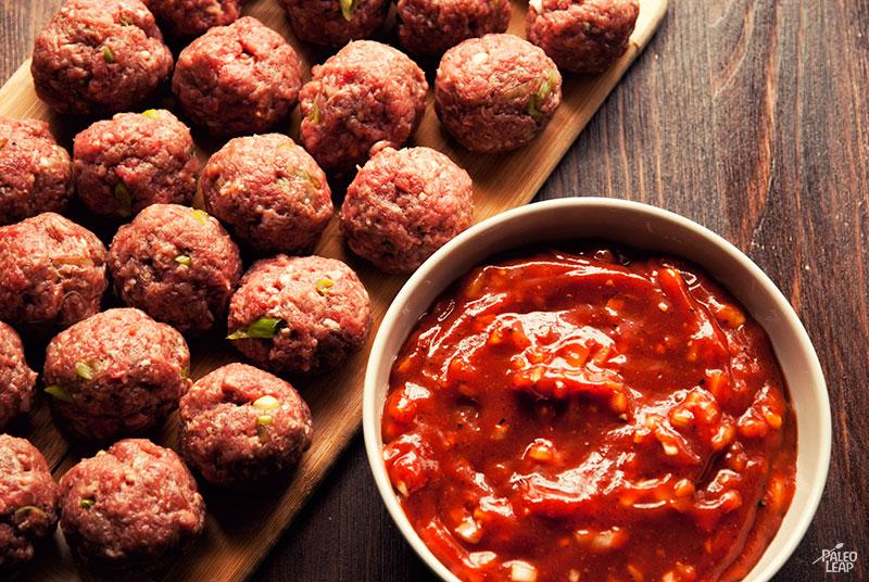 Meatball preparation