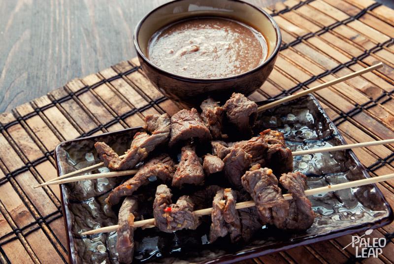 Beef Satay | Paleo Leap