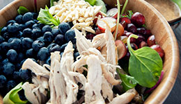 Chicken Salad With Almond Dressing