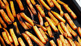 Chipotle-Glazed Sweet Potato Fries