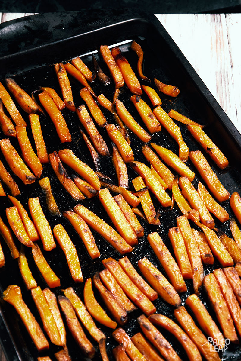 Chipotle-Glazed Sweet Potato Fries