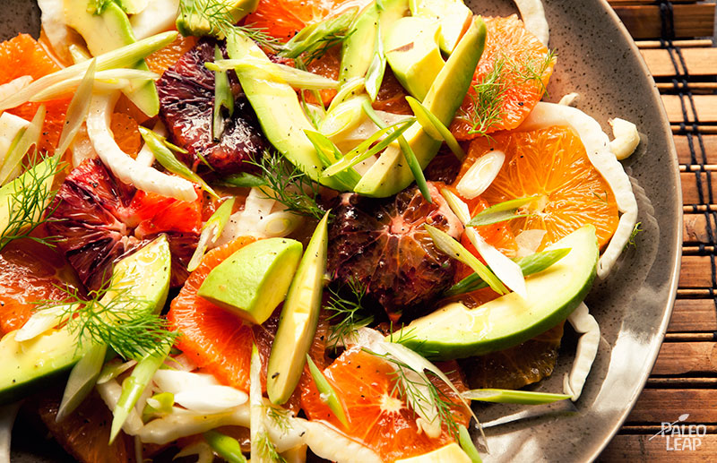 Citrus and Avocado Salad | Paleo Leap