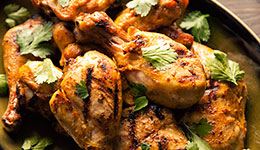 Coconut-Buttermilk Southwestern Grilled Chicken