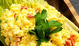 Egg Salad with Roasted Bell Pepper