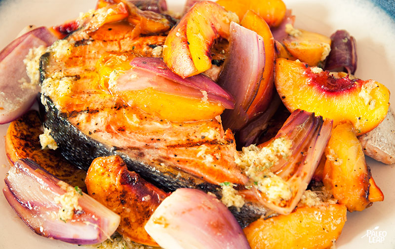 Ginger Chicken With Peaches And Onion Recipes — Dishmaps