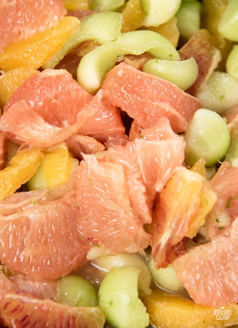 Fruit salad preparation