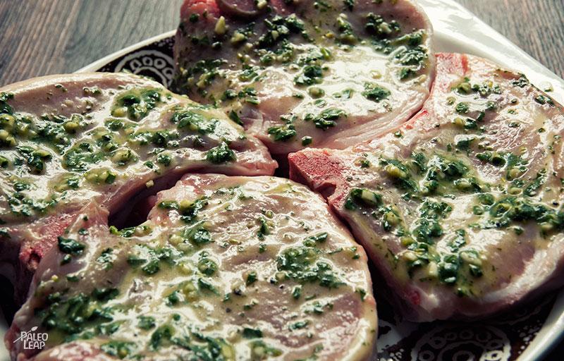 Grilled pork preparation