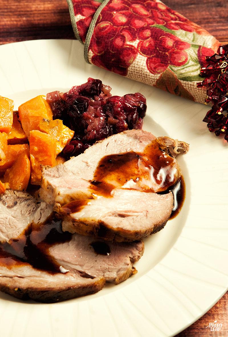 Holliday Spiced Pork Roast