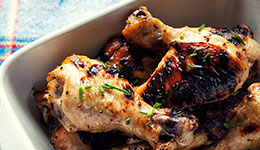 Honey-Mustard Drumsticks