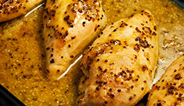 Orange-Mustard Chicken